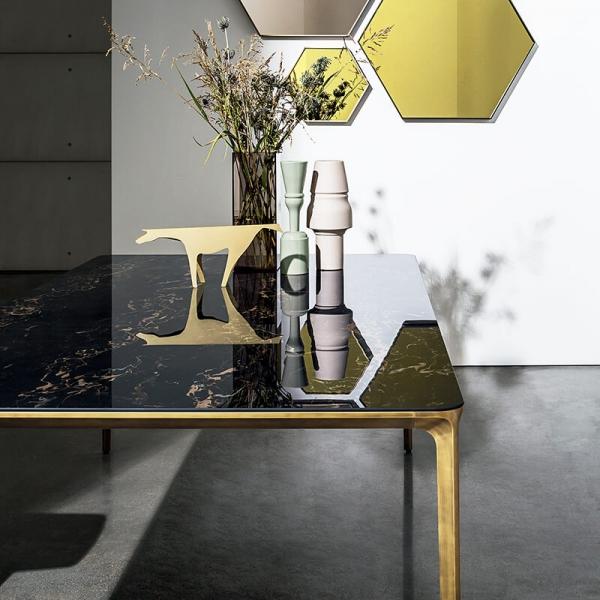 Table en céramique design extensible -  Slim Sovet® 4 - 4