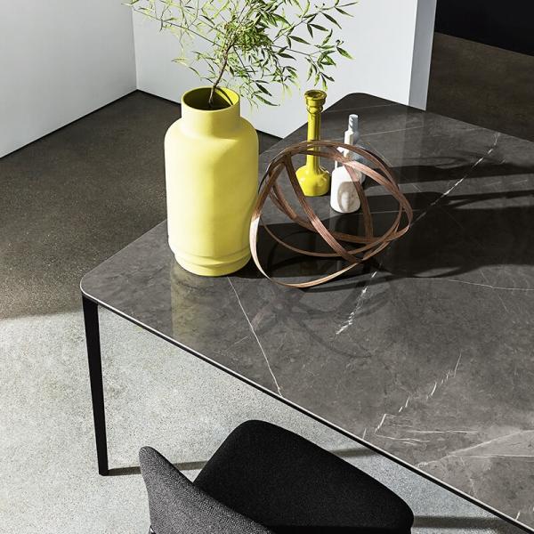 Table en céramique design extensible -  Slim Sovet® 5 - 5