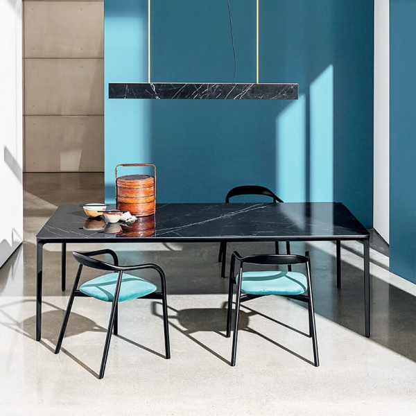 Table en céramique design extensible -  Slim Sovet® 6 - 6
