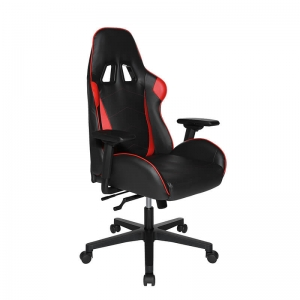 Chaise gaming rouge et noir avec accoudoirs réglables - Speed chair 2