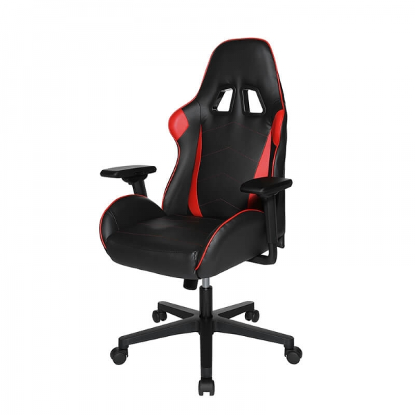 Fauteuil gaming confortable rouge et noir - Speed chair 2 - 3