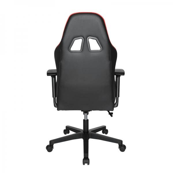 Fauteuil de bureau ergonomique pour gamers rouge et noir - Speed chair 2 - 6