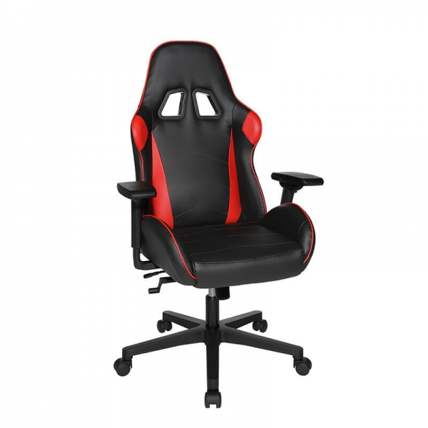 Chaise de gamer noire et rouge réglable - Speed chair 2 - 7