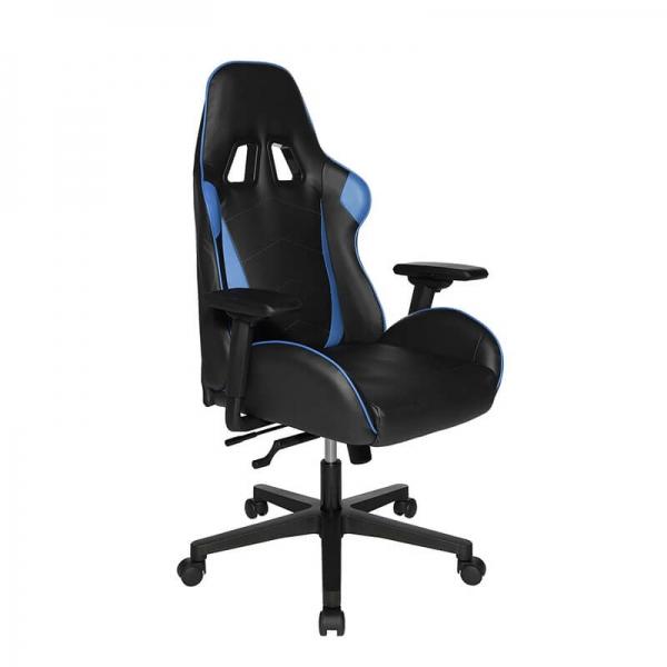 Chaise gaming bleue et noir avec accoudoirs réglables - Speed chair 2 - 8