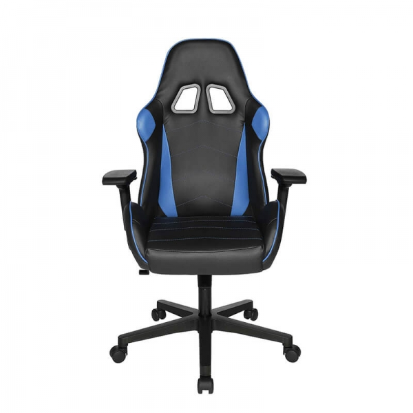 Chaise gaming pro bleue et noire - Speed chair 2 - 9