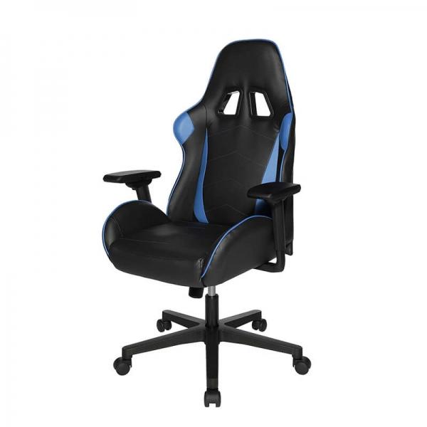 Fauteuil gamer bleu et noir - Speed chair 2 - 10