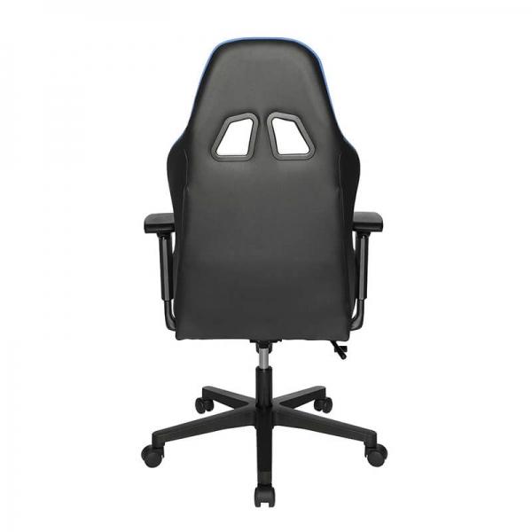 Fauteuil gamer confortable bleu et noir - Speed chair  2 - 13