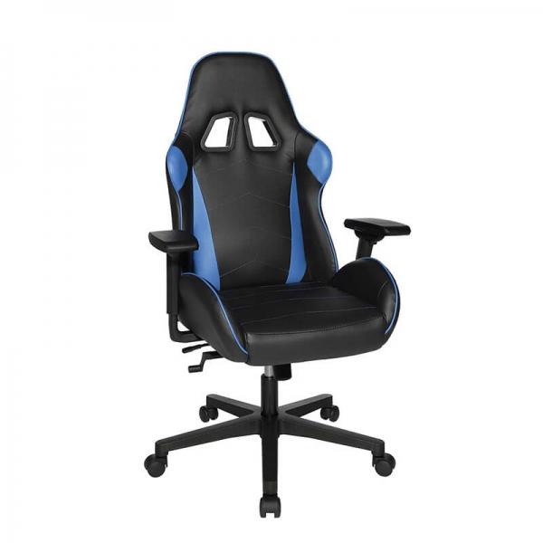 Fauteuil gaming haut de gamme bleu et noir - Speed chair 2 - 14