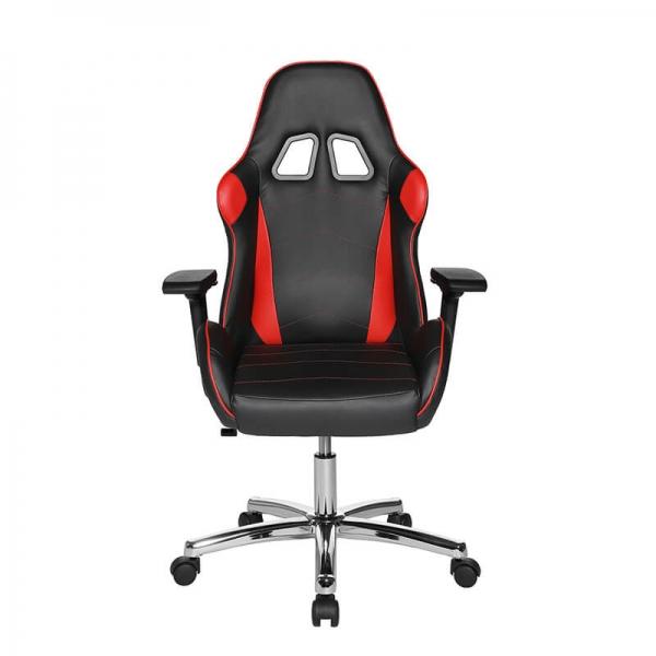 Fauteuil gaming confortable rouge et noir avec accoudoirs réglables - Speed chair 2 - 16