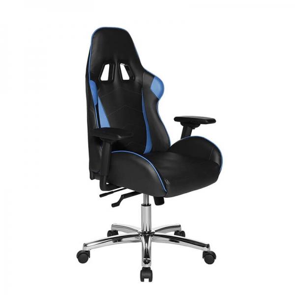 Chaise ergonomique de bureau pour gamer noir et bleu - Speed chair 2 - 22