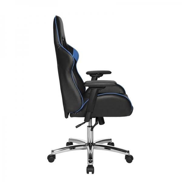 Fauteuil jeux vidéo noir et bleu - Speed chair 2 - 26
