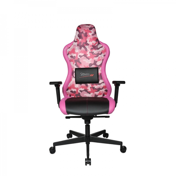 Chaise jeux vidéo rose et noire - Sitness - 18