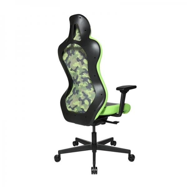 Chaise jeux vidéo verte - Sitness - 25