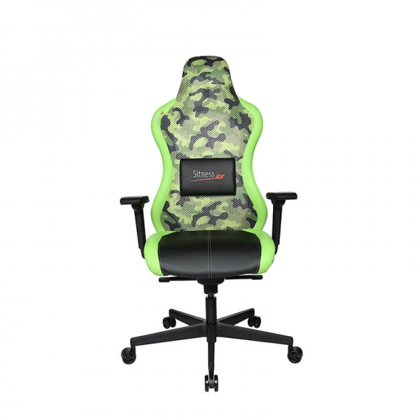 Chaise gamer ergonomique verte - Sitness - 28
