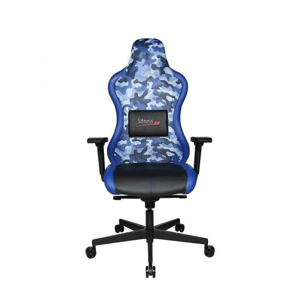 Fauteuil gaming ergonomique bleu - Sitness - 38