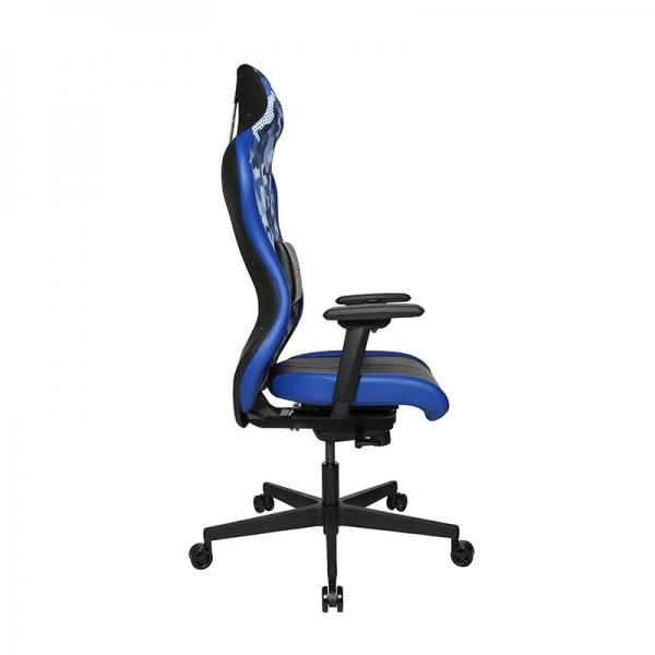Chaise ordinateur bleu pour gamer  - Sitness - 41