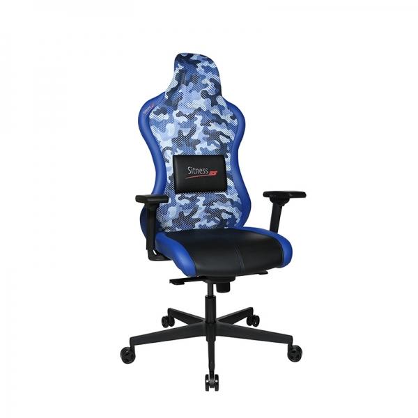 Siège de gamer bleu design - Sitness - 42