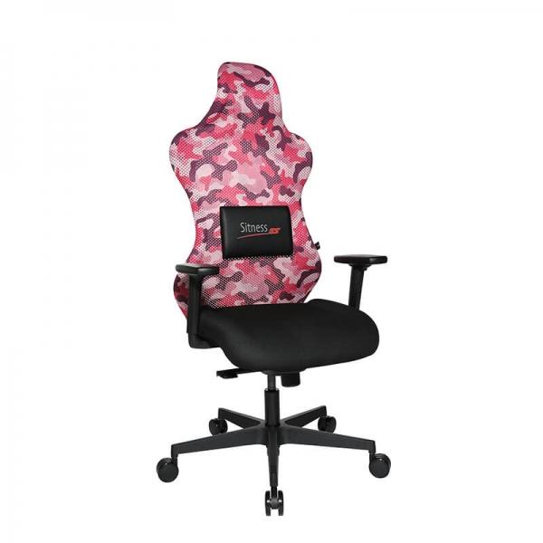 Chaise gaming ergonomique réglable et coussin pour le dos - Sitness - 20