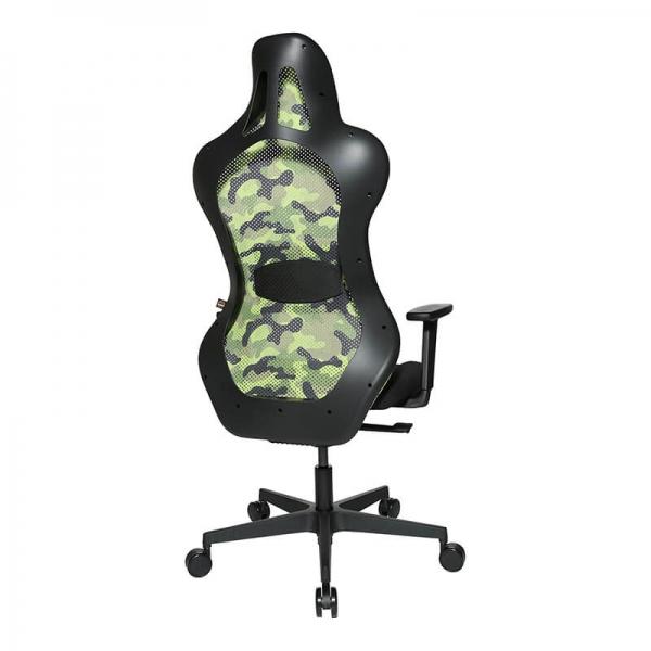 Siège de gamer vert ergonomique et confortable - Sitness - 29