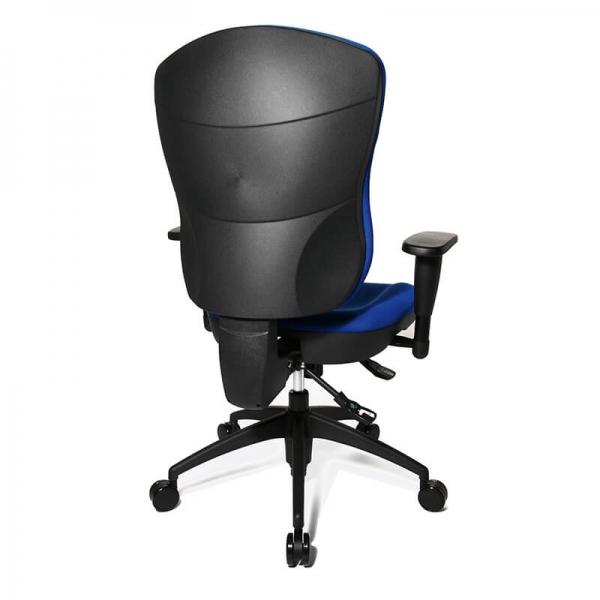 Chaise de bureau confortable en tissu bleu - Wellpoint - 23