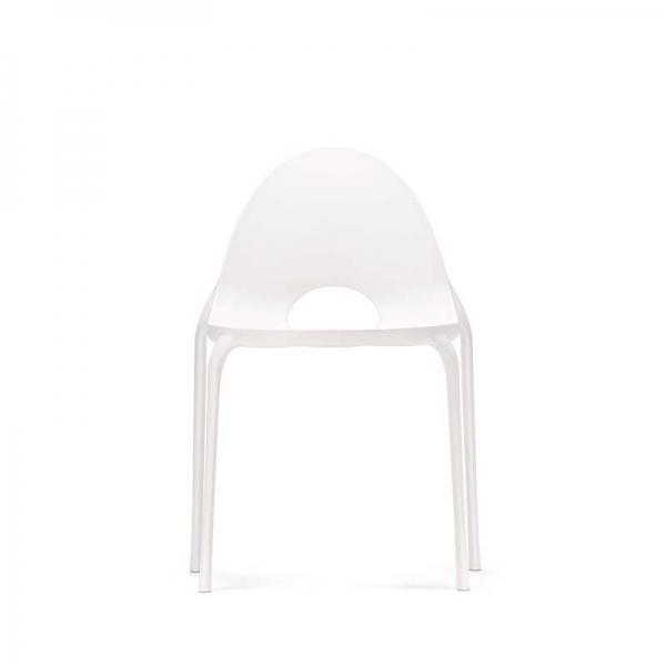 Chaise d'extérieur en plastique blanc - Drop Infiniti® - 13