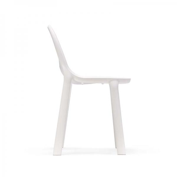 Chaise d'extérieur en plastique blanc - Drop Infiniti® - 14