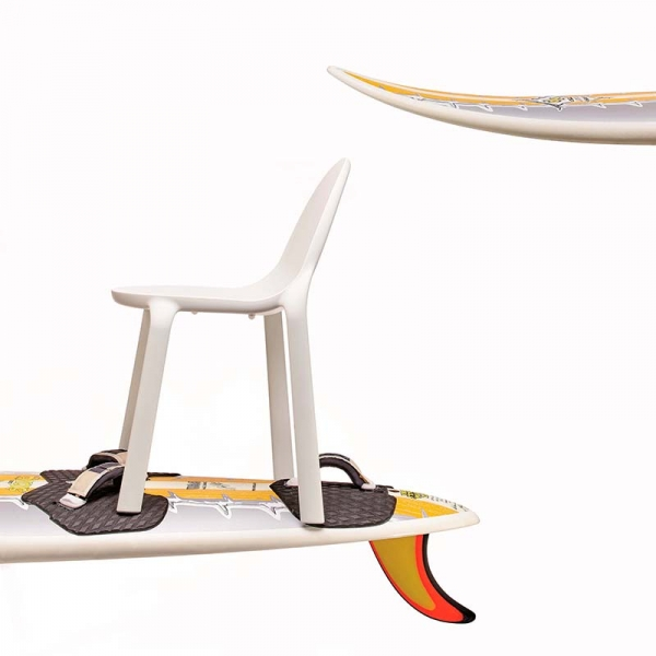 Chaise d'extérieur en plastique blanc - Drop Infiniti® - 15
