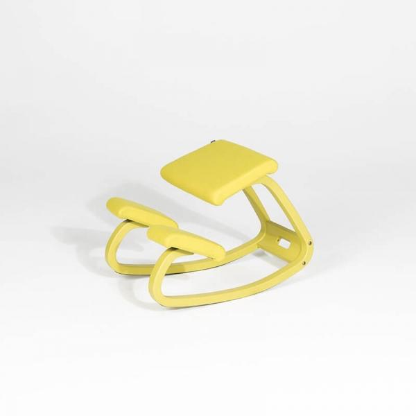 Chaise de bureau ergonomique à bascule en tissu - Variable Monochrome Varier® - 9
