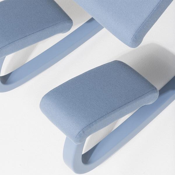 Chaise de bureau ergonomique à bascule en tissu - Variable Monochrome Varier® - 11