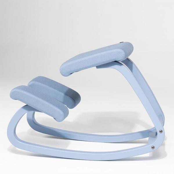 Chaise de bureau ergonomique à bascule en tissu - Variable Monochrome Varier® - 12