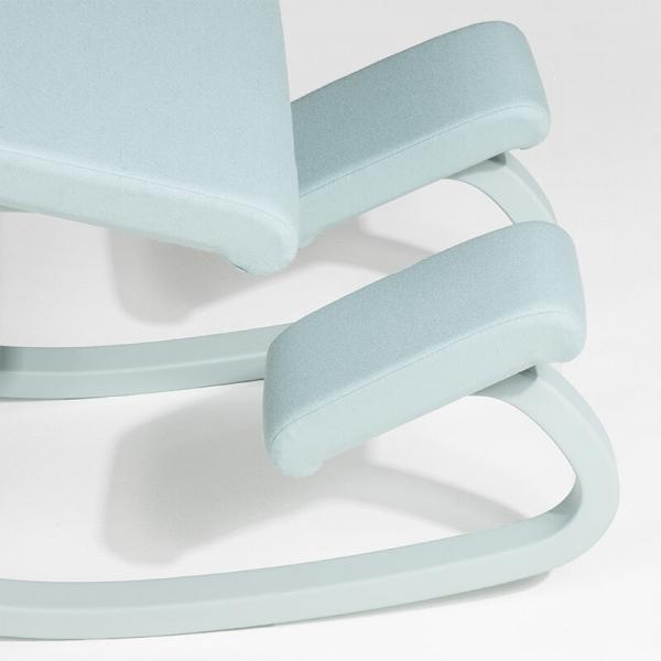 Chaise de bureau ergonomique à bascule en tissu - Variable Monochrome Varier® - 15
