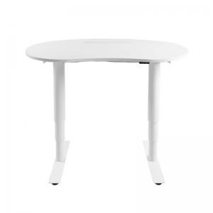 Bureau réglable en hauteur électrique blanc - Sitness X Up 10
