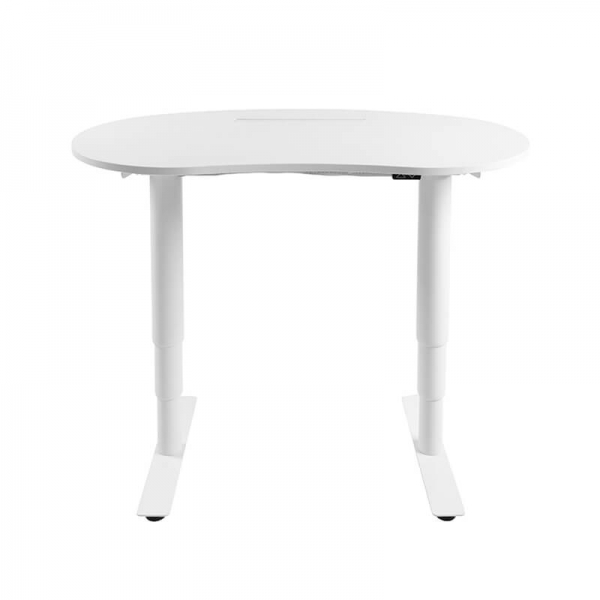 Bureau réglable en hauteur électrique blanc - Sitness X Up 10 - 1