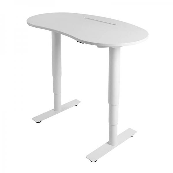 Bureau électrique à hauteur réglable blanc - Sitness X Up 10 - 2