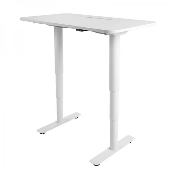 Bureau assis debout électrique blanc - Sitness X - 6