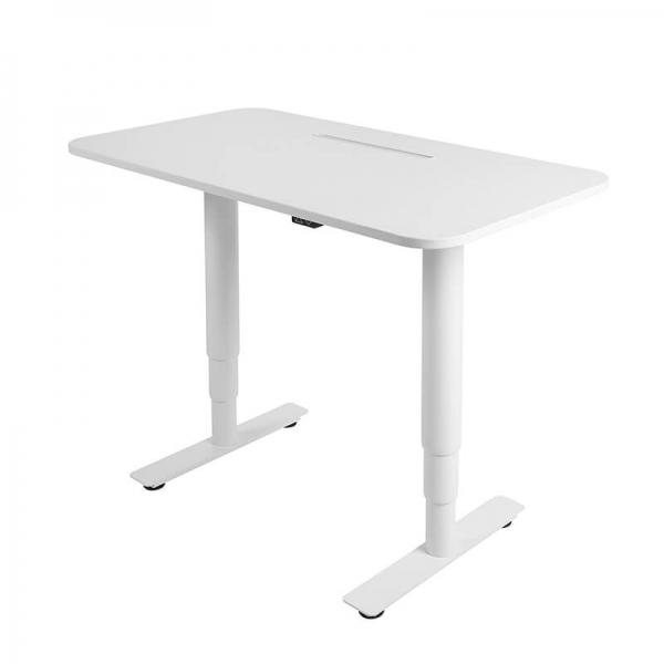 Bureau réglable en hauteur électrique blanc - Sitness X - 3