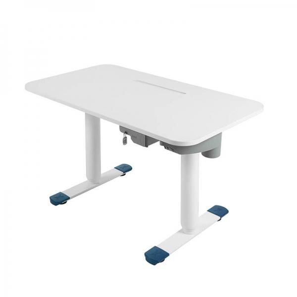 Bureau électrique assis debout ergonomique blanc - Sitness X - 13