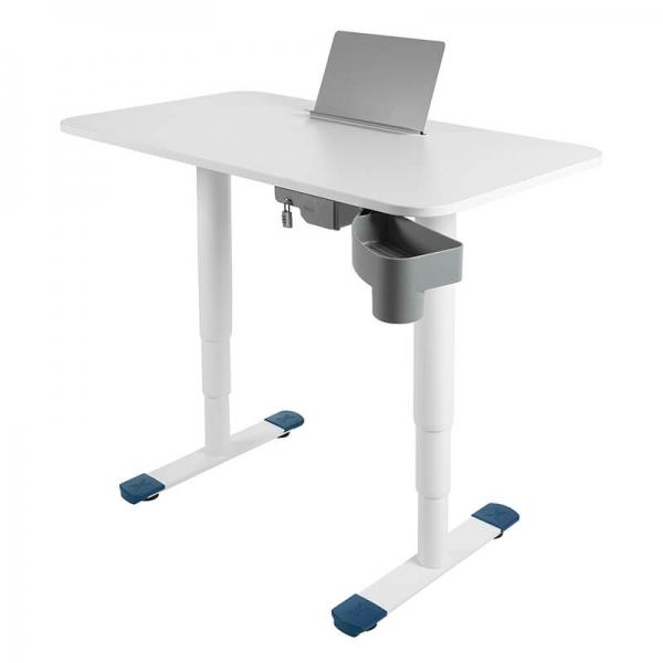Bureau électrique ergonomique avec support tablette - Sitness X - 23