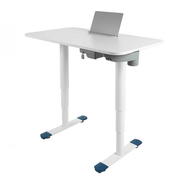 Bureau électrique assis debout avec support livre - Sitness X - 24