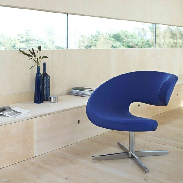 Fauteuil ergonomique et inclinable en tissu – Peel Club Varier® - 2