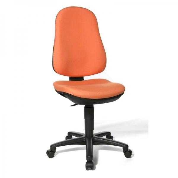 Chaise bureautique réglable avec des roulettes – Support P - 1