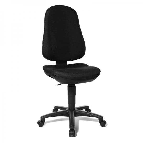 Chaise bureautique confortable avec des roulettes – Support P - 12