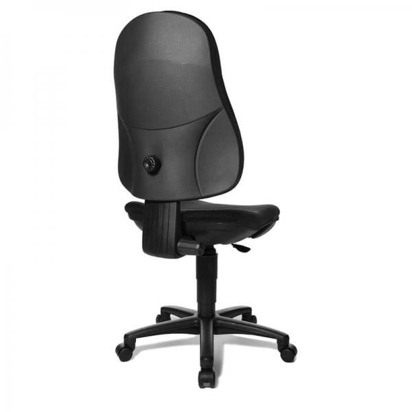 Chaise noire pour bureau – Support P - 15