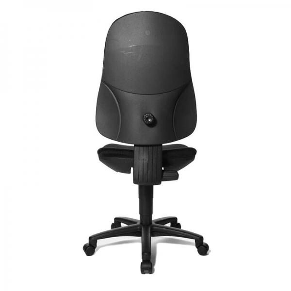 Chaise de bureau noire réglable – Support P - 16