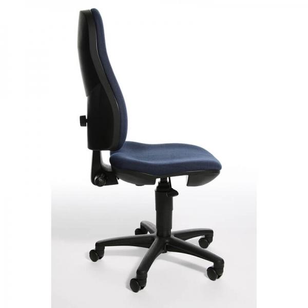 Chaise bureautique réglable en tissu – Support P - 24