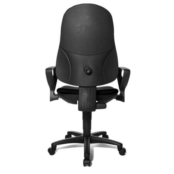 Chaise de bureau avec accoudoirs et roulettes – Support P - 32