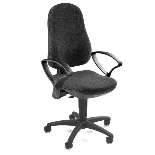 Chaise avec accoudoirs et roulettes pour bureau – Support P - 33