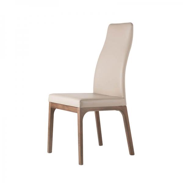 Chaise moderne de salle à manger en bois - 2
