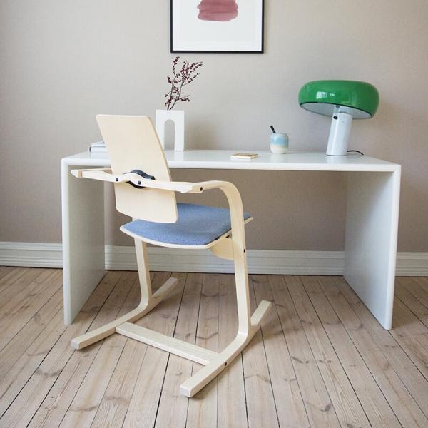 Chaise à bascule de bureau ergonomique bleue - Actulum Varier® - 8