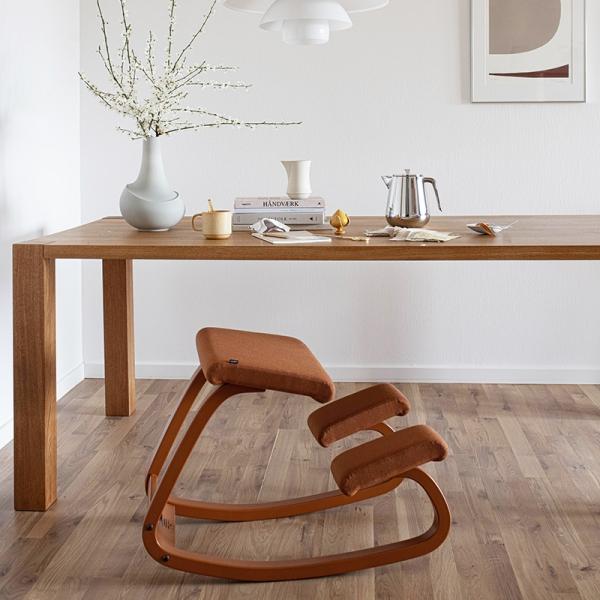 Chaise de bureau ergonomique à bascule en tissu - Variable Monochrome Varier® - 2